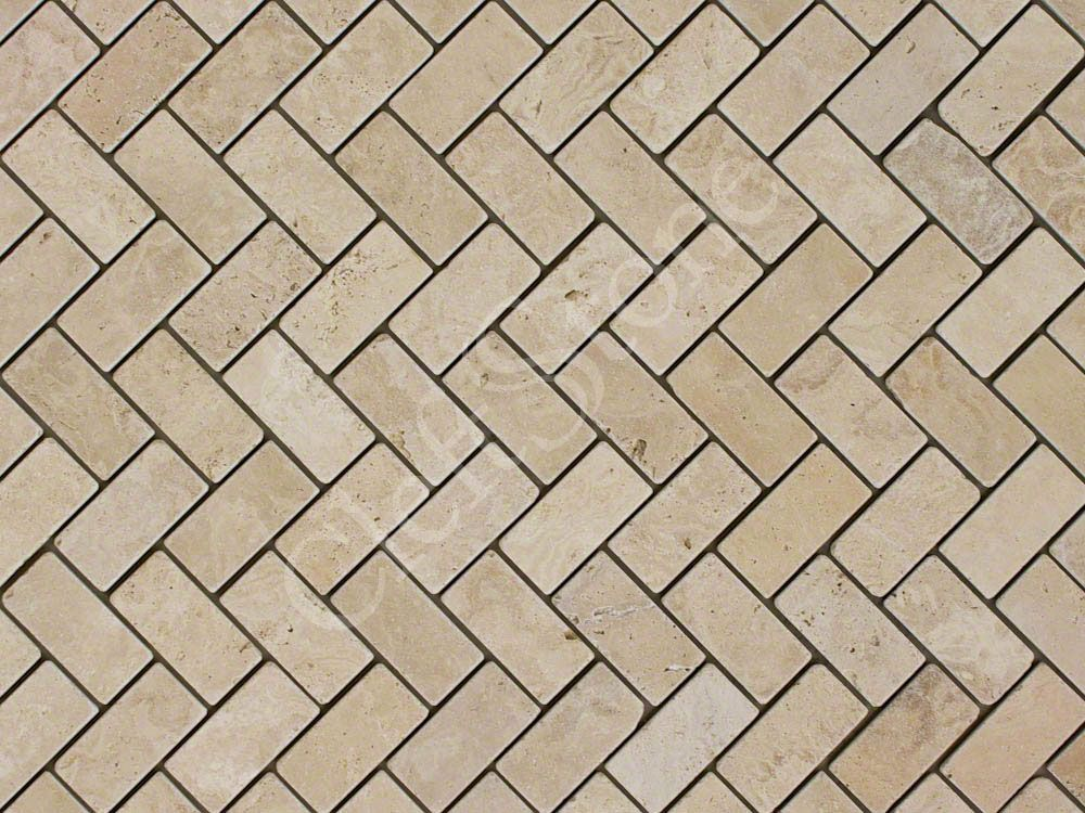Travertine Herringbone Tile Designs