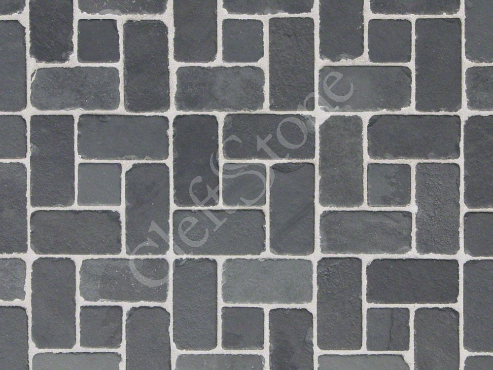 Shapes Patterns The CleftStone Works - 4 inch slate tile