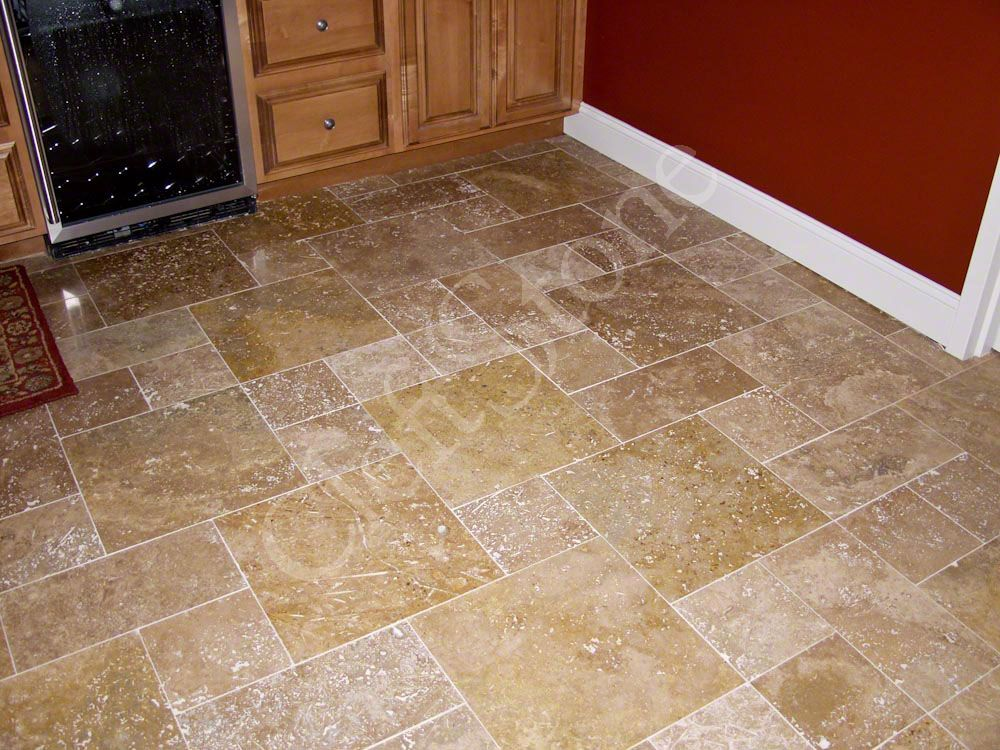 All Product Photos The CleftStone Works - 16 inch travertine tile